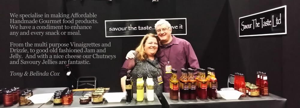 Tony and Belinda Cox - Owners of Peplers