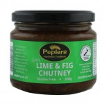 Lime and fig chutney