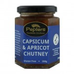 Capsicum and Apricot Chutney