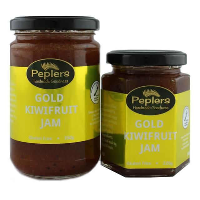 Gold Kiwifruit Jam Peplers New Zealand
